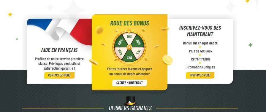MACHANCE wheel of fortune