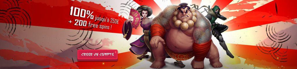 Banzai slots welcome bonus
