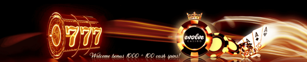 Evolve Casino Welcome offer